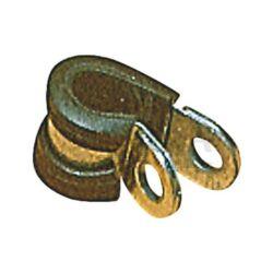 (M9955210) Gázcső rögzítő bilincs gumibetéttel 8 mm