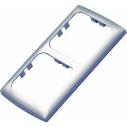 (M9974378) Kapcsolókeret 113 x 60 mm, kétrészes, világosszürke színben