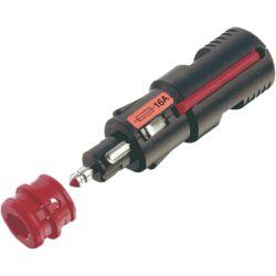 (M9975696) Szivargyújtó lengődugó, 12-24 V, 16 A biztosítékkal, d 21/12 mm.