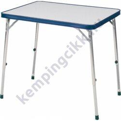 (9921286) Kempingasztal kék szegéllyel, 101 cm x 48/70 cm x 65 cm