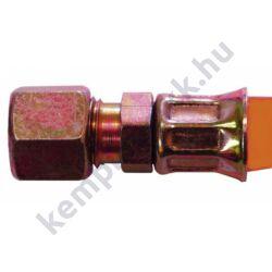 Flexibilis gázcső különböző hosszúságokban és fagyálló kivitelben -30°C