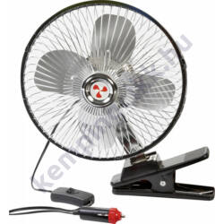 Mistral felcsiptethető ventillátor, 12V