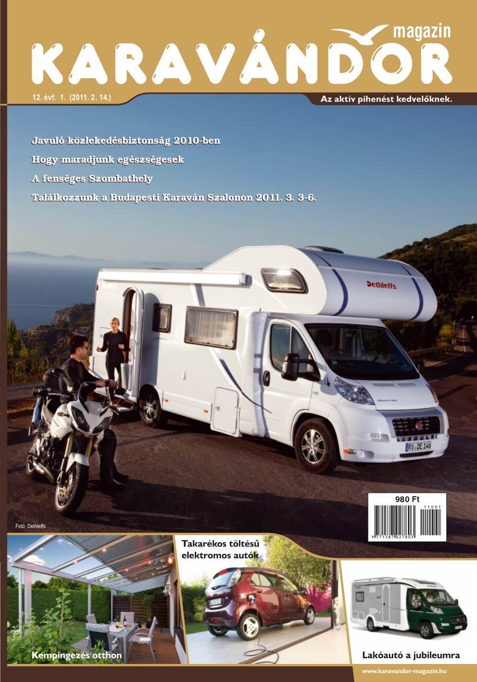 Karavándor magazin 2011. Tavasz