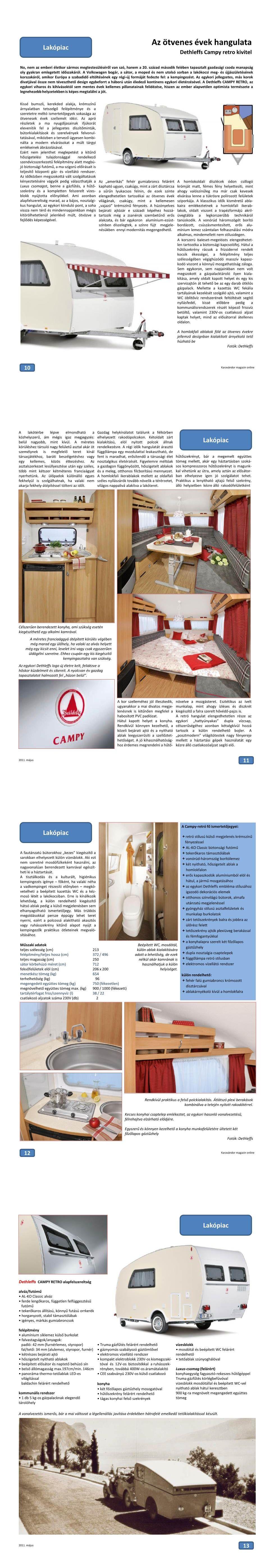 Lakópiac - Előre a múltba: Campy RETRO