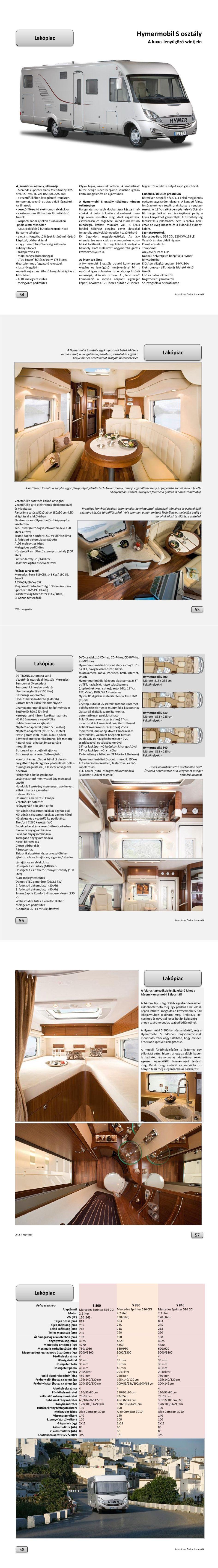 Lakópiac - Hypermobil S osztály