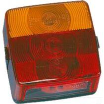Hátsó lámpa rendszámvilágítással mindkét oldalra szerelhető