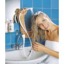 Mosdócsaphoz zuhany fehér