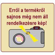 Elősátorkéder textil bevonattal szürke 7 x 25 mm x 3 m