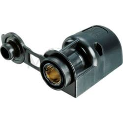 (M9958530) 16 A-es dugaljzat fedőkupakkal. 12-24 V