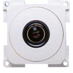 (M9974280) 12 V-os dugalj betét, fehér, kétpólusú, DIN szabványos, 6-24 V, 120 W