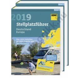 ADAC Parkolószállás Kalauz 2019 (Stellplatzführer)