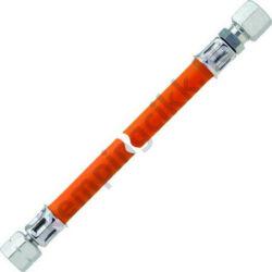 Gáztömlő 40 cm 10 mm 1/4 balos hollandi / roppantó