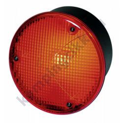 Hátsó piros ködlámpa kerek Ø 122,5 mm