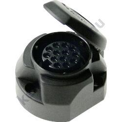 (M9984550) 13 pólusú dugaljzat gumitömítéssel