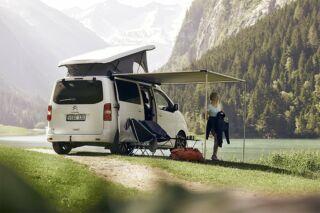 Felnyitható tetővel készült kisbuszokhoz is felszerelhető naptetők