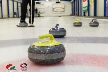 Curling nyílt edzés