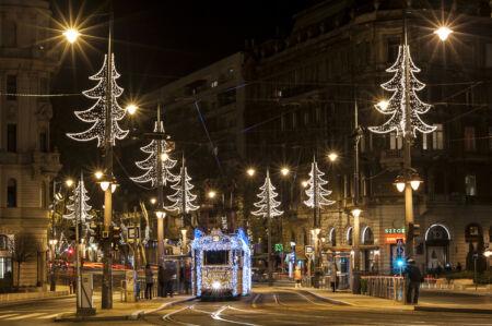 Adventi Fényvillamos Budapesten
