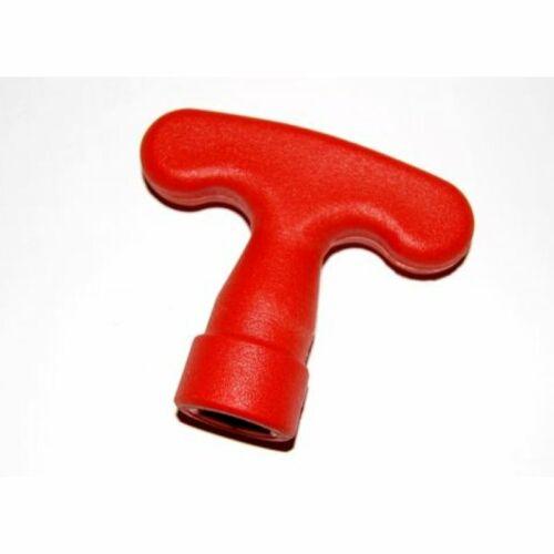 (M9916164) A kézi maroktekerő kifejezetten a szokványos műanyag Wurmi menetes tüskékhez készült