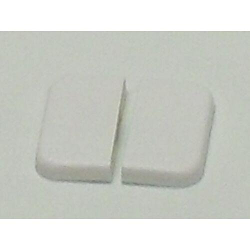 (M9953240) Billenőkapcsoló, dupla kapcsolólap fehér színben