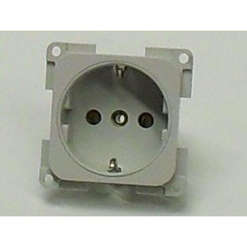 (M9974268) Schuco dugaljzat, két pólusos, 10 / 16 A, 250 V, világosszürke