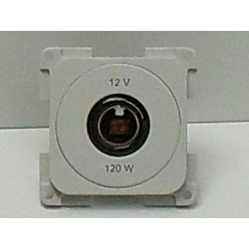 (M9974288) DIN szabványú, esztétikus, kisméretű csatlakozó aljzat szürke színben