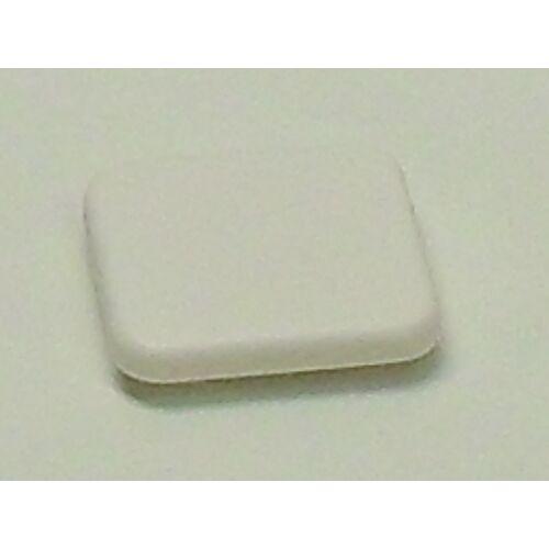 (M9974320) Egypólusú billenőkapcsoló fehér színben, lapos megjelenéssel.