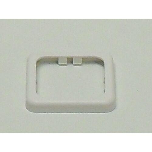 (M9974360) Kapcsolókeret, 60 x 60 mm, fehér színben