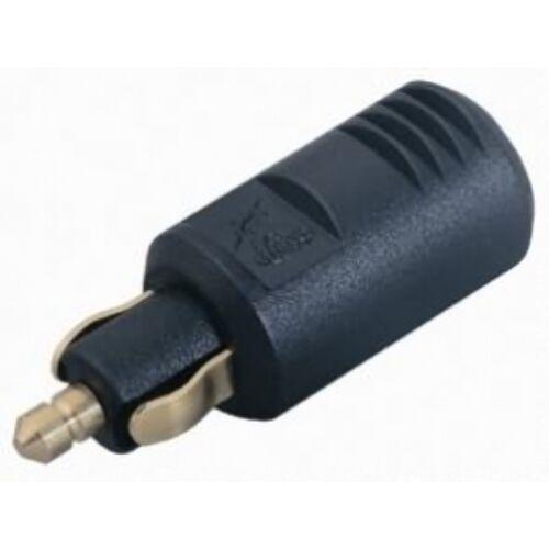 (M9975600) Csatlakozó dugó szivargyújtóhoz, DIN, 8 A /12-24 V