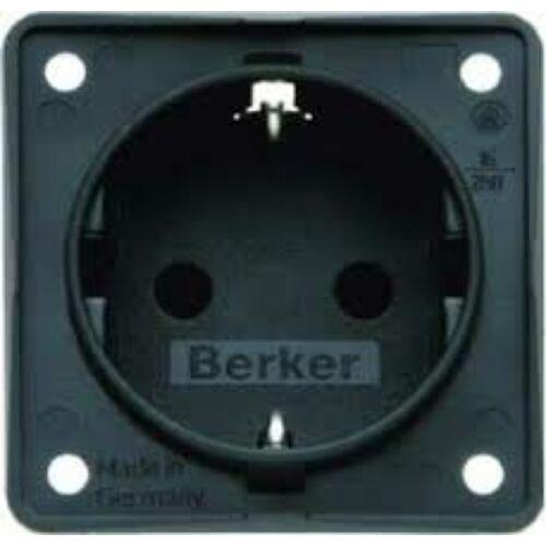 (M9981441) Berker B-Mobil Schuko dugaljzat, antracit színben