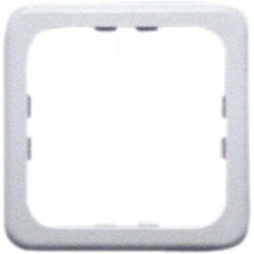 (M9993670) Kapcsolókeret 60 x 60 mm, egyrészes, ezüst színben.
