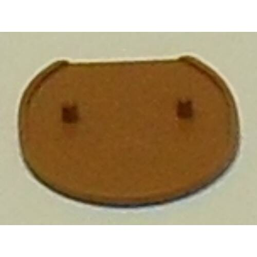 Bútor rögzítő takarókupak - barna