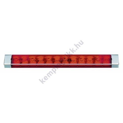 Féklámpa LED-es  BRS250 piros - takarósapka nélkül 255x28x14 mm