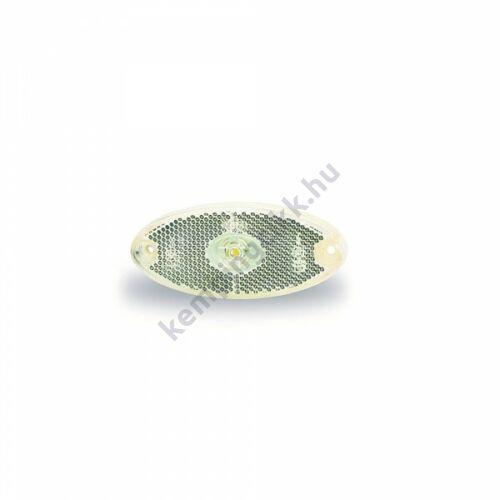 Pozíciófény prizmával, LED-es PLR elöl fehér