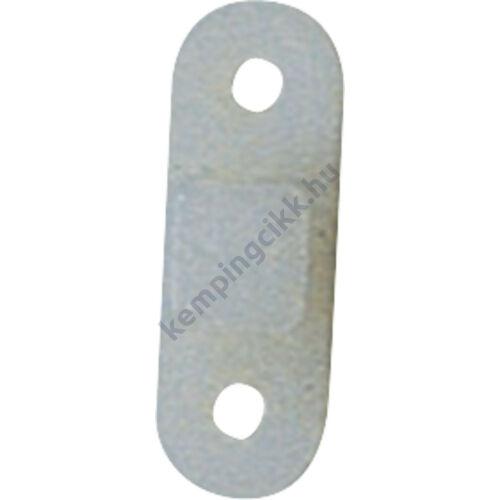 Elősátor beakasztó fül - függőleges - műanyag