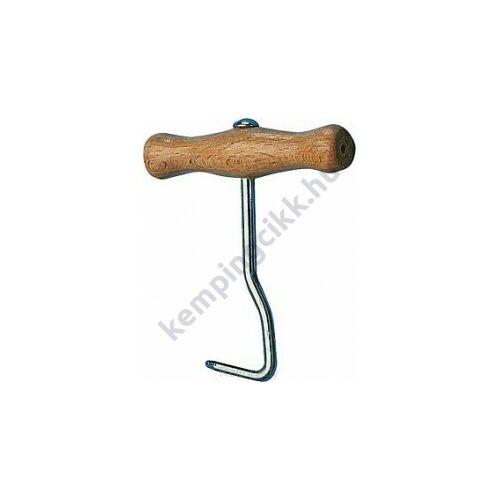 (M9917030) Acél cövekkihúzó fa nyéllel