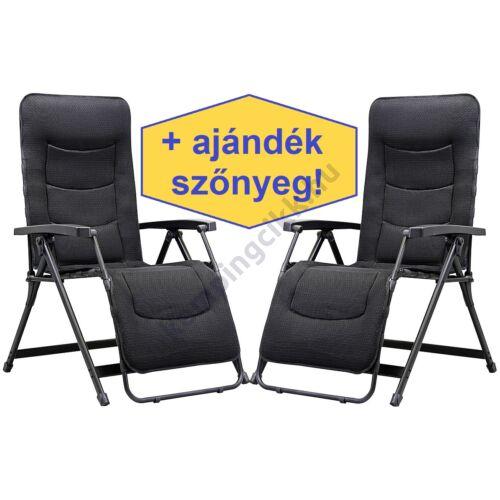 Aeronaut Performance relax székek antracit szürke (2 db)