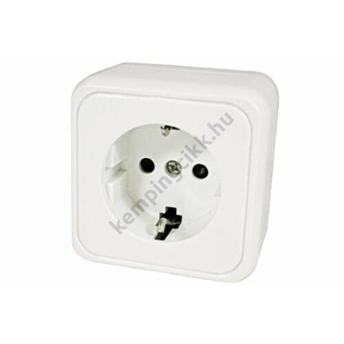 230V-os fehér konnektor