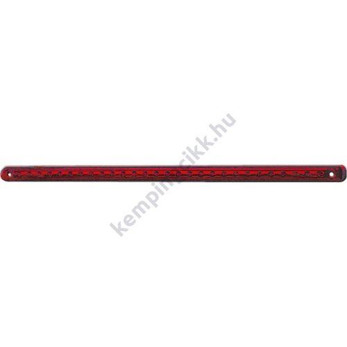 Kiegészítő féklámpa piros LED-es 12 V