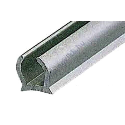 (M9961060) Alu szélfogó behúzósín ezüst színű, 3 m-es
