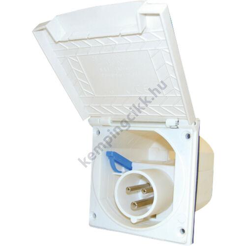 (M9975100) Négyzetes, külső fedeles betáp fehér színben. 104 x 104 mm