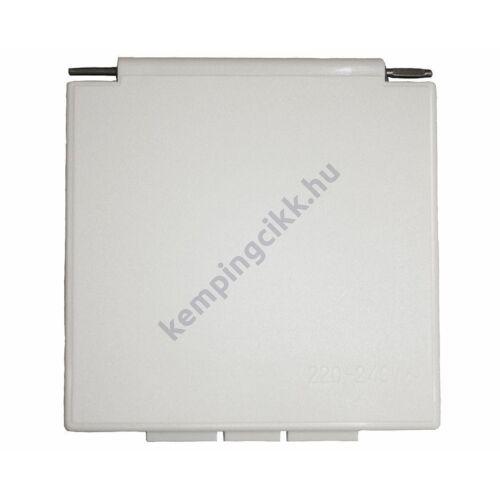 (M9991416) Fedél CEE betápaljzathoz, 105 x 105 mm, fehér színben