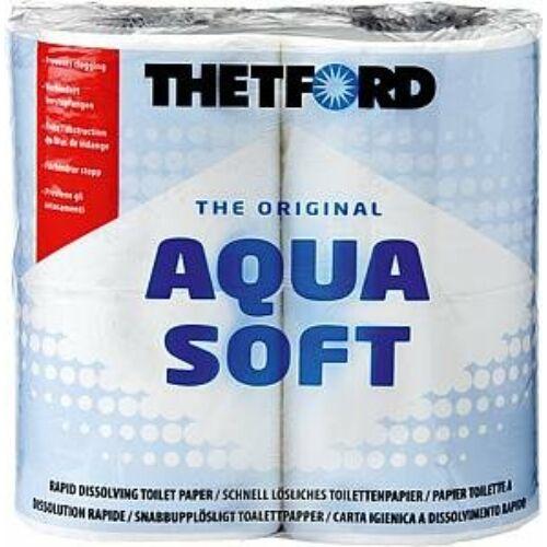 (M9976490) Extra puha toalettpapír a kényelmes és kulturált használat kedvéért, amely a Thetford lebontószerek alkalmazása esetén gyorsan lebomlik