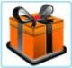 Amelyik terméknél ezt a szimbólumot látja, ahhoz a kosárnál értékes ajándékot választhat!