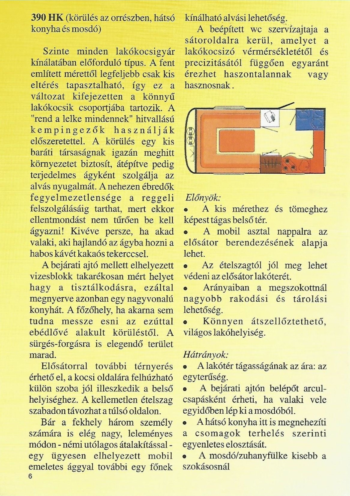 Karavándor magazin 2000 1. szám, Milyen alapon? Alaprajz iskola: 390 HK