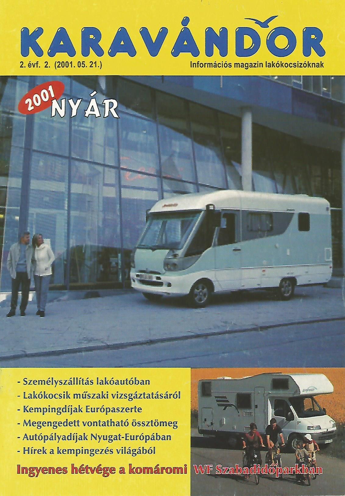 Karavándor Magazin 2001 Nyár