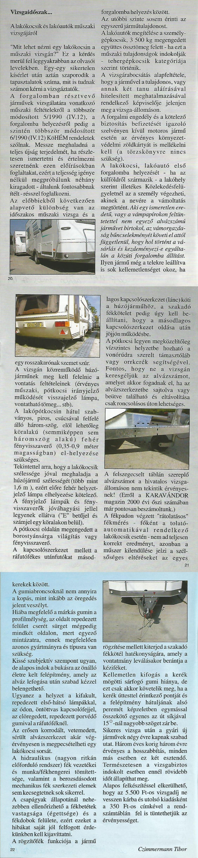 Karavándor magazin 2001. Nyár, A lakókocsik műszaki vizsgájáról