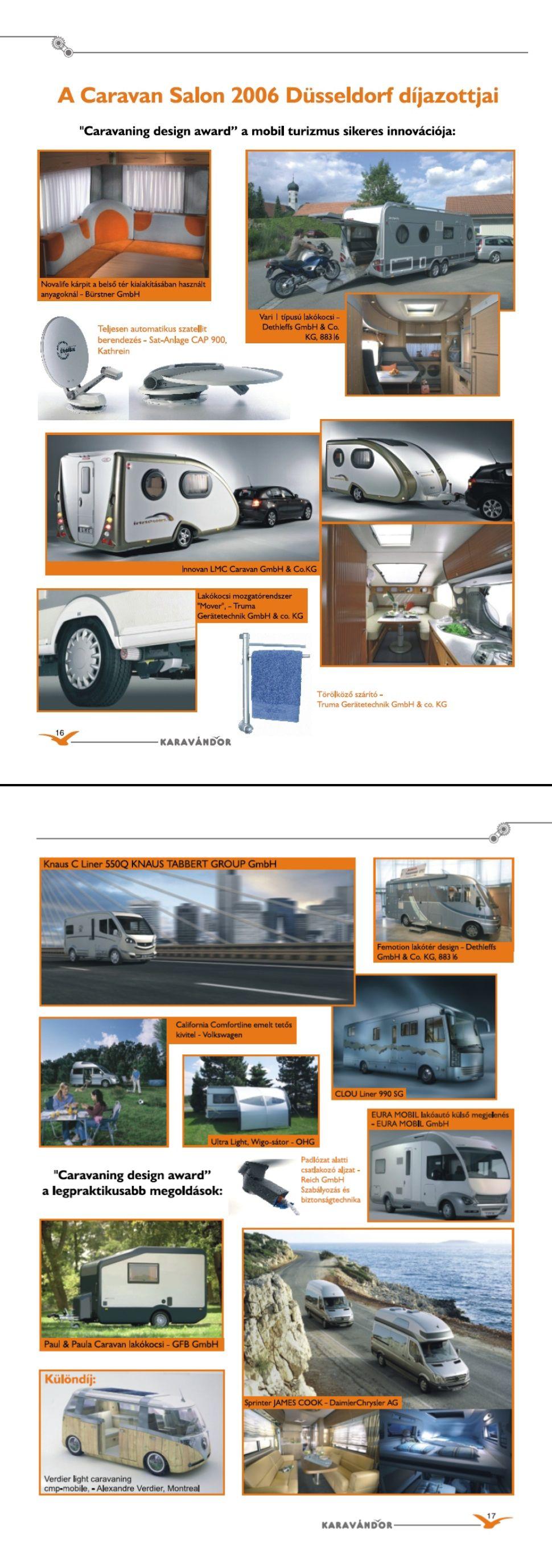 Innováció + High-Tech - Mercedes Sprinter alacsony alvázon - Díjnyertes termékek Düsseldorfban