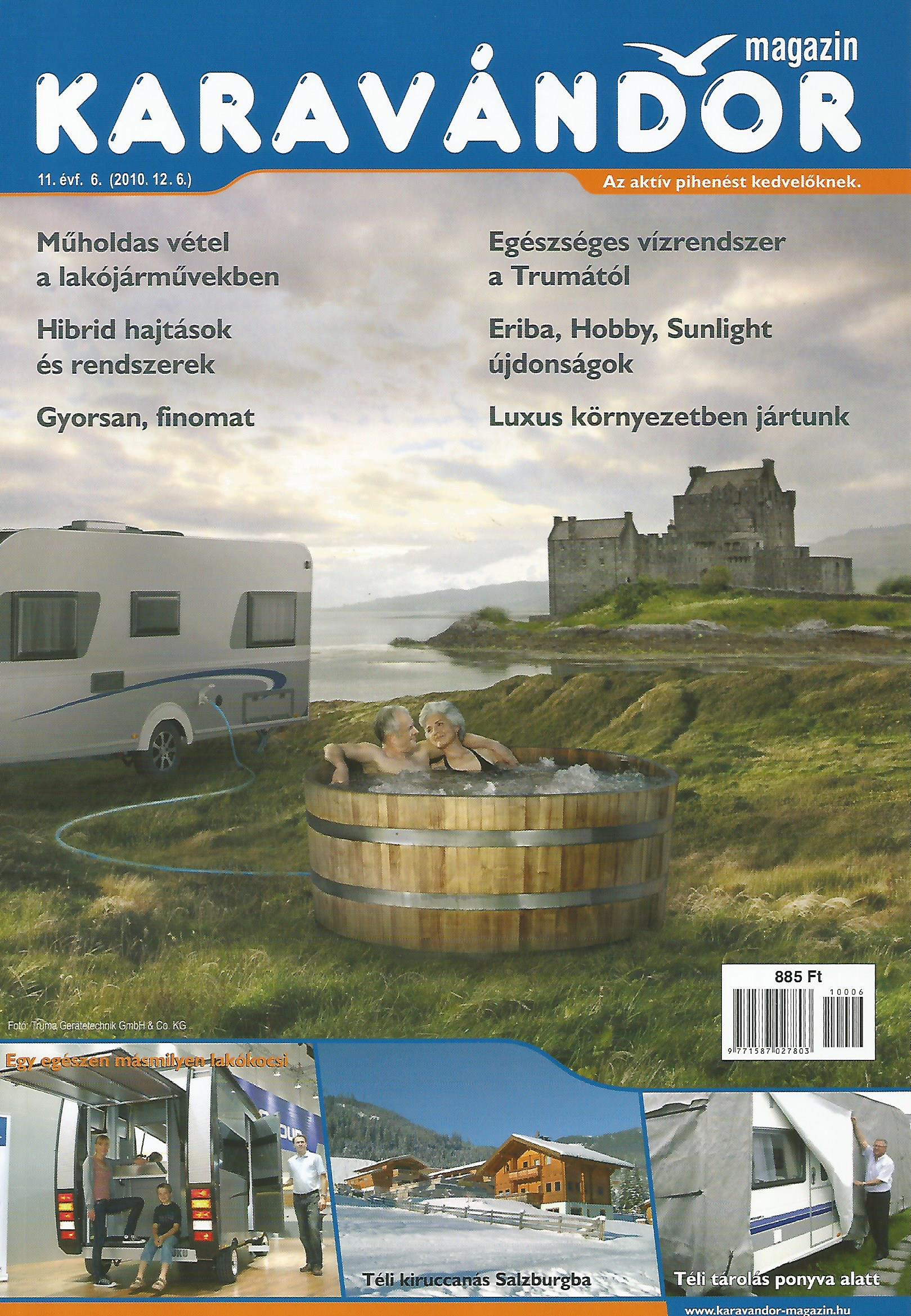 Karavándor magazin 2010/ 6. szám