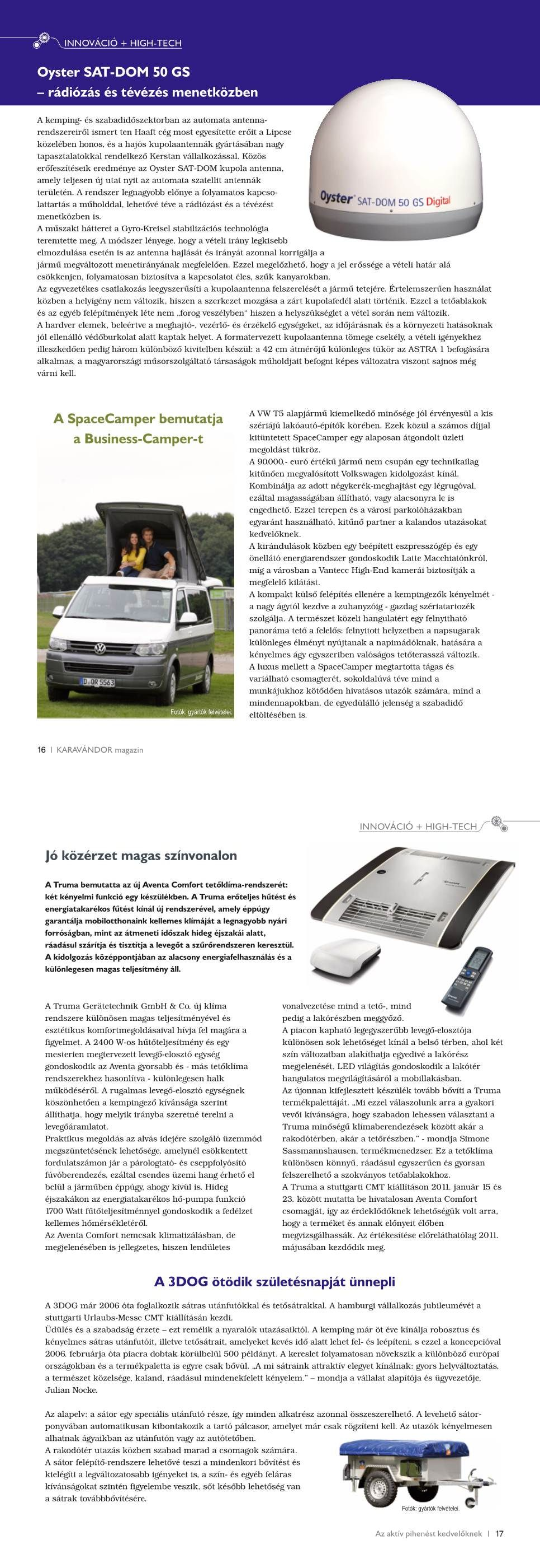 Innováció + High-Tech - Újdonságok innen-onnan