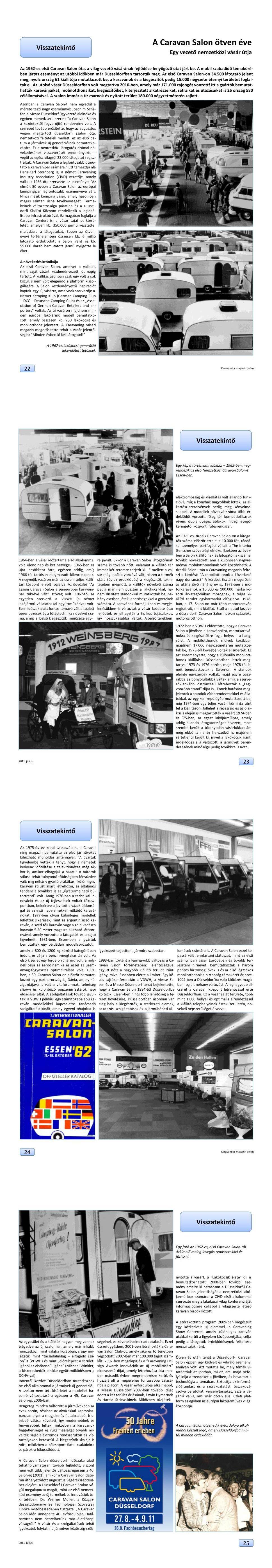 Visszatekintő - A Caravan Salon 50 éve